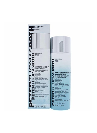 Peter Thomasroth PETER THOMAS ROTH Water Drench Hyaluronic Micro-Bubbling Cloud Mask 120 ml Renksiz